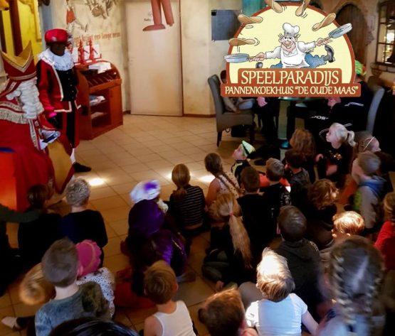 Sinterklaas op bezoek bij De Oude Maas